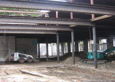 Project Iepenville : verbouwing fabrieksgebouw tot lofts